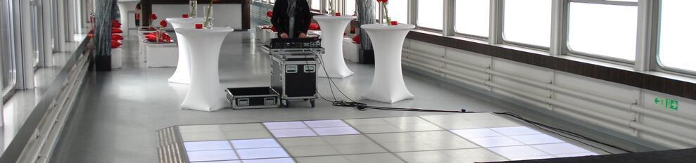 Ledvloer.nl Pure liner LEDvloer 4 x 3 meter